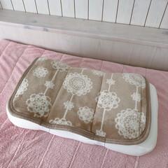 枕カバー/枕/まくら/低反発/低反発枕/LIMIAごはんクラブ/... ドイリー柄の枕カバーを付けて早速使ってみ…