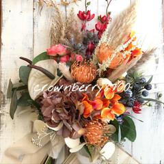 アーティシャルフラワー/ウェディングアイテム/ウェディングフォト/花のある暮らし/花/ウェディング/... Aug,1.2021 * * 𓇼 wed…(1枚目)