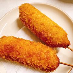 ナポリタン/大根そぼろ/チーズドック/おうちごはん ( ゚▽゚)/コンニチハ〜☀️ ①皆さん…