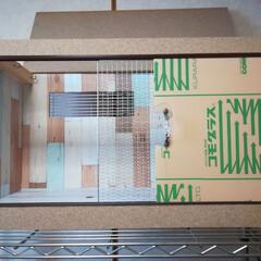 小動物/ケージ/ハリネズミ/DIY/100均/セリア/... ハリネズミのお家。 2代目制作完了。 家…(1枚目)