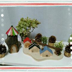 ムーミンの家?/木工品のお家/多摩クラフトフェア/100均 昨日、多摩センターで、開催されていた第1…