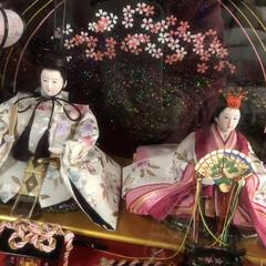 リンゴ箱/模様替え/お雛様/ダイソー 一般的な雛祭りは3月3日でもう終わってい…