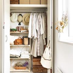インテリア/収納/ファッション/クローゼット/洋服収納/クローゼット収納/... my closet 𓆸