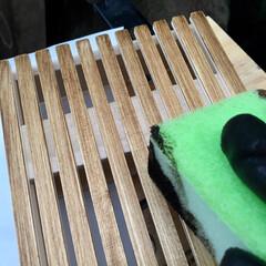 東急ハンズ/虫除けカバー/夏インテリア/インテリア/DIY/雑貨/... セリアとハンズで買った木材で虫除けカバー…(3枚目)