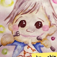 テンションMAX/子供達のご褒美/今だけ500円/久々マック/チョコメルツ/お得なテリヤキ/... わたしの落書き😊👆  今日の夕飯は迷って…