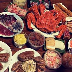 カニ/あけおめ/フォロー大歓迎/冬/おうち/おうちごはん/... お正月はおせち料理というより、我が家では…