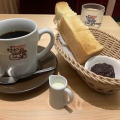 あんこ/コーヒー/珈琲/Cafe/モーニング/暮らし/... 娘の冬休み限定の塾を待ちながら  近くの…