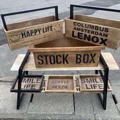 ガーデニング/ボックス/トレイ/フォロー大歓迎/キッチン雑貨/収納/... ガーデンボックスやトレイを作りました  …