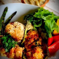 タイ料理/翡翠茄子/カオマンガイ/鶏肉/コリアンダー/パクチー/... 電気圧力鍋でカオマンガイ🇹🇭 翡翠茄子の…