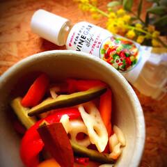 野菜/ピクルス/おうちカフェ/器好き/器のある暮らし/カフェ飯/... ピクルス大好き。