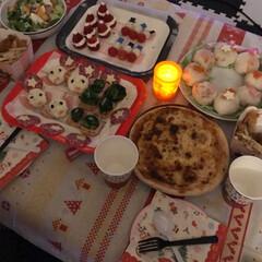 クリスマスディナー/クリスマスパーティーメニュー/クリスマス簡単/美味しかった 2017Christmas パーティーメ…(1枚目)