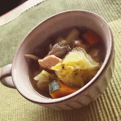 ダイエット/ヘルシー/野菜/キッチン/レシピ スープ①