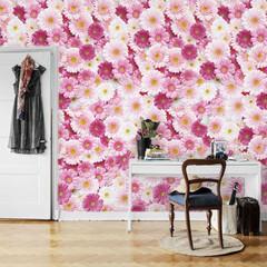 花柄/壁紙/ロマンチック/ピンク/DIY ブランド:Jebrille Wallpa…
