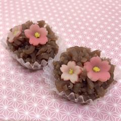 和菓子/グルメ/フード/スイーツ なんの花でしょう? ひな祭りに向けて、桃…
