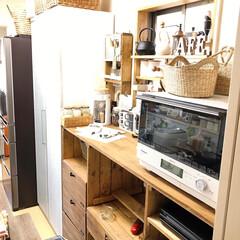 キッチン/kitchen/DIY/SPF材/改造中/セルフリノベーション/... お久しぶりでございます。。。 1枚目 A…(2枚目)