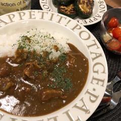 カレー/グルメ/フード/おうちごはん/レモネード 今日の晩ご飯は【カレー】 いたって普通の…