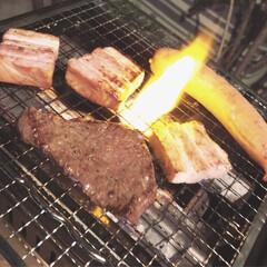 肉/バーベキュー/グルメ/フード/おうちごはん 今年の夏は…夏風邪が 家族中にグルグル回…