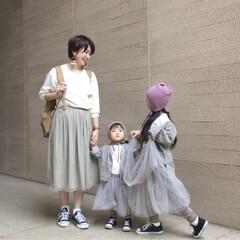 韓国子供服/プチプラ/チュールスカート/姉妹/リンクコーデ/お揃いコーデ/... 韓国子供服が昔から好きです。 そして、姉…