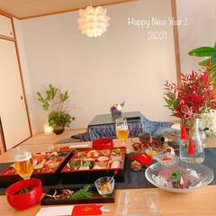 お節料理/おせち料理/お節/正月準備/正月/お正月インテリア/... ✨🎍あけましておめでとうございます🎍✨ …(1枚目)