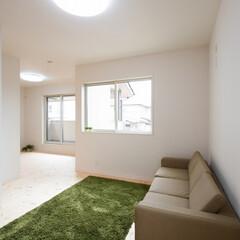 キッズルーム/スペース活用/アレンジ/部屋/部屋づくり/おすすめ/... 将来は壁を造って、2部屋に出来るようにな…