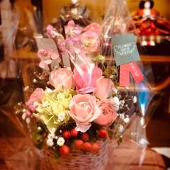 桃の花/おひなさまメニュー/LAWSON/ドラえもん/わたしのごはん/フード/... ① またまたLAWSONでかわいいドラえ…(3枚目)