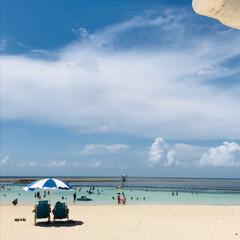 夏休み/海/家族沖縄旅行/おでかけ/風景 夏休み、みんなで沖縄旅行へ行ってきました…