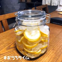 ステイホーム/レモンシロップ漬け/国産レモン スーパーでわけあり愛媛県産のレモンの大袋…