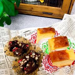 バレンタインデー❤️/レモンのパウンドケーキ/マシュマロチョコ/手作りクッキー 2月14日バレンタインデー💕 ①仕事の仲…