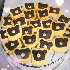 くまちゃんクッキー/バレンタイン2020 こんにちは☺️ 今日はバレンタインデー💗…