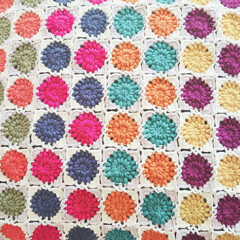 モチーフつなぎ/モチーフ編み/編み物/ハンドメイド 久々に熱中したモチーフ編み♡ もう少し編…(3枚目)