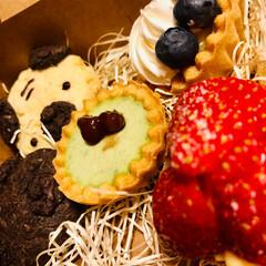 バレンタイン/手作り/タルト/チョコ嫌い/クッキー/レモンカード/... チョコ嫌いに送るバレンタイン!  1 い…