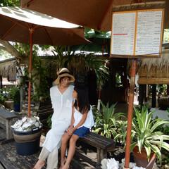 Cafe/宮古島/family/trip/旅行/海 宮古島から渡った小さな離島来間島❤️とっ…