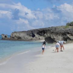 海/宮古島/BEACH/family/trip/夏休み/... ふと訪れたbeachも本当に綺麗🌴宮古島…