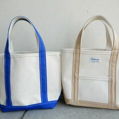 春/バッグ/ファッション 春になって 使いやすいキャンバスバッグを…