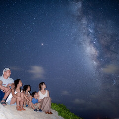 family/旅行/宮古島/自然/夏休み 宮古島での星空フォトツアーでの一枚😢😢❤…