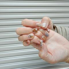 美容/nail/ネイル ハンドネイル個性的な デザインでかわいい…