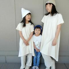 code/リンクコーディネート/リンクコーデ/KIDS/ファッション こどもたちの夏を意識した 爽やかリンクコ…