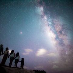 夏休み/宮古島/フォト/星空/family 家族ではじめて訪れた宮古島🌴満天の星空と…