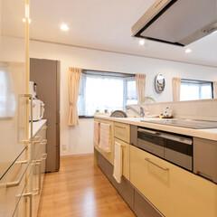 キッチン/オープンキッチン/システムキッチン/トクラス システムキッチンはトクラスのBb。開放感…