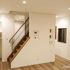 リビング/リビングイン/階段 以前は階段を境に完全に分断されていた空間…