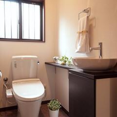 トイレ/リフォーム/リノベーション これまでは階段下の狭いスペースにあったト…