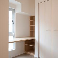 寝室/ベッドルーム/収納/書斎/デッドスペース ベッドルームのデッドスペースを利用して、…