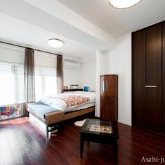 アジアンインテリア/ベッドルーム/寝室 寝室はお手持ちのアジアンインテリアを思い…