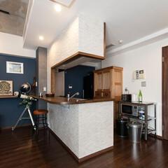 キッチン/キッチンカウンター/対面キッチン キッチンはリビング側のカウンター部分をリ…
