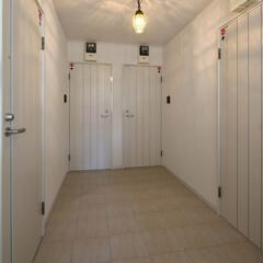 安心/安全/セキュリティ/おしゃれ/かわいい オートロックの玄関を入ってから、各居室の…