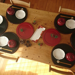 漆食器/スタジオエム/お正月/角皿/アフタヌーンティー/ドゥセー/... お正月は毎年義実家にて。わたしはおせち担…
