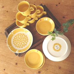 黄色が好き/北欧/スンヌンタイ/食器好き/ペニーワイズ テーブル/スタジオエムトレー/... 黄色い物 その2