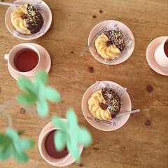 おうちカフェ/食器好き/カップ&ソーサー/scope/パウダー/ティーマ/... ショップおすすめの使い方。 ソーサーの1…