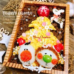 お弁当/お弁当作り/キャラ弁/デコ弁/クリスマス弁当/クリスマス クリスマス弁当