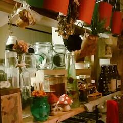 可愛い瓶はそのままでも❤/手作り小物たち